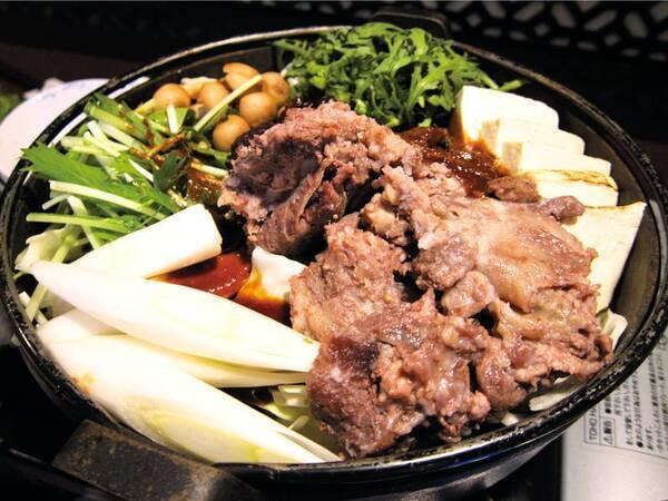 【夕食/例】選択料理、牛すき焼き