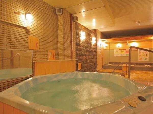 大浴場「浪漫湯」ジャグジーも!
