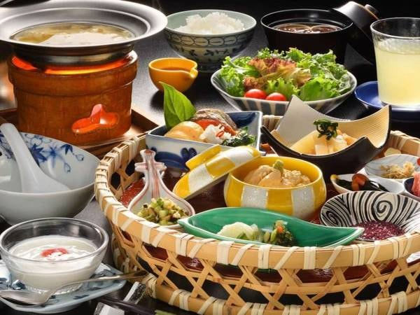 あづま荘特製和朝食