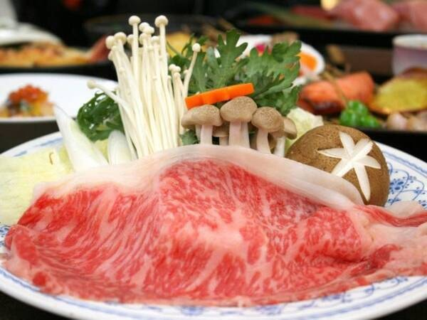 山形牛すき焼き/一例