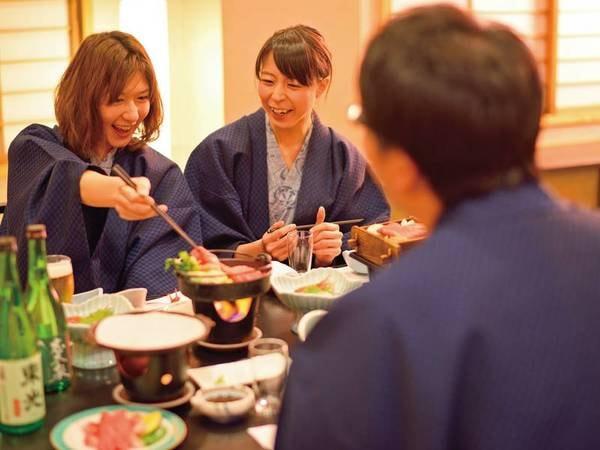 夕食は個室もしくはお部屋にてゆったりと♪(写真イメージ)