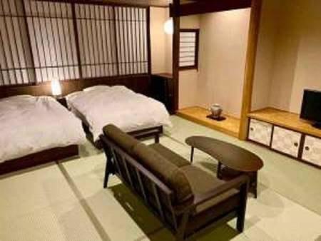 バリアフリー・ツインベッド和洋室(禁煙)/一例