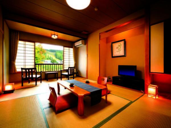 【和室/例】ゆっくりとした時間に心癒される和室は8畳以上をご用意