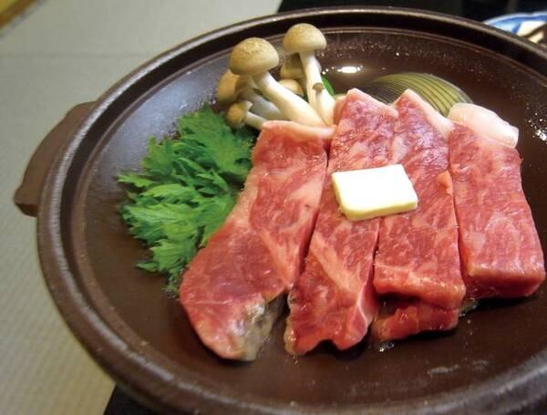 山形牛陶板焼き付き和食膳/ブランド牛「山形牛」の陶板焼きを堪能!(写真一例)