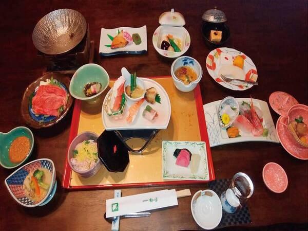 【夕食/例】スタンダード季節の和会席プラン