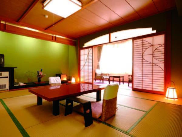 【和室/一例】12畳和室でゆっくり滞在