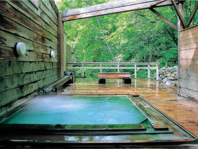 【露天風呂】蔵王温泉で一番最初に造られた露天風呂