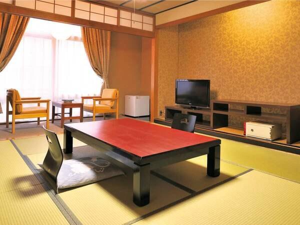 32型液晶テレビや空冷蔵庫を完備/和室一例