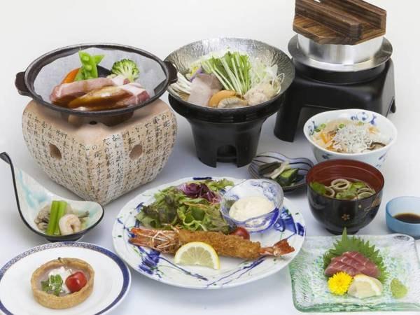 【季節のお手頃会席/一例】季節替わりの和食膳をご用意!