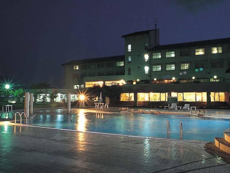 洋風露天風呂(SPAプール)水着着用/夜の雰囲気