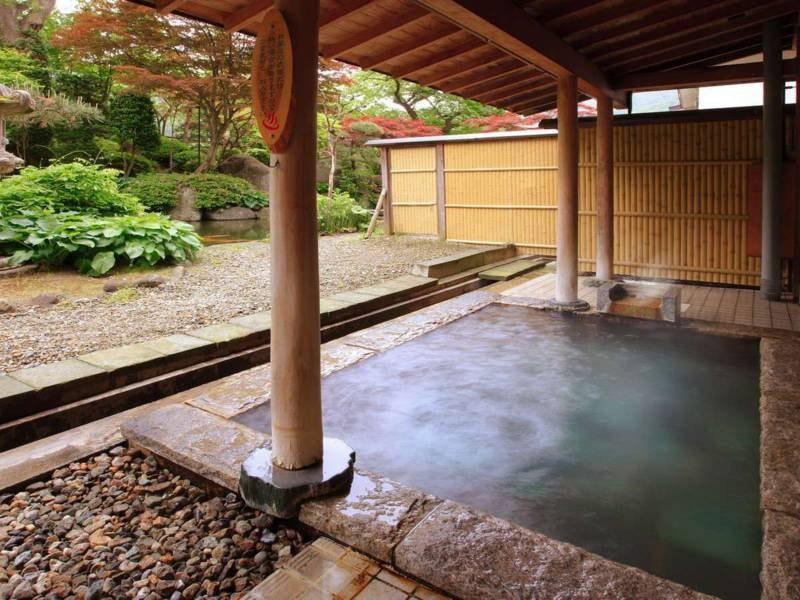 女性大浴場【静の湯】露天風呂