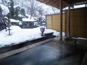 女性大浴場【静の湯】雪見露天風呂