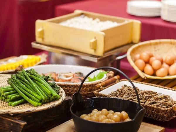 朝食/和食ブッフェ一例