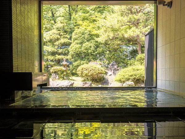 【露天風呂/山水】自然の風を感じながらゆったりと