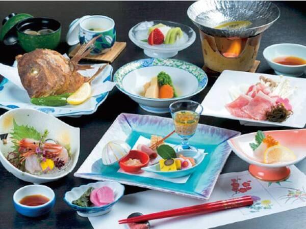 【庄内名物和会席膳/例】庄内の名物がつまった充実の和食膳