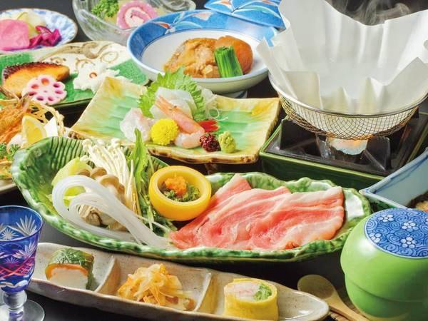 【庄内まるかじりプラン/例】庄内の食材満載の和食膳