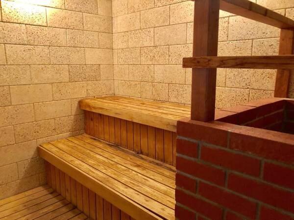 【ホットハウスカムロ:大浴場】サウナも完備♪