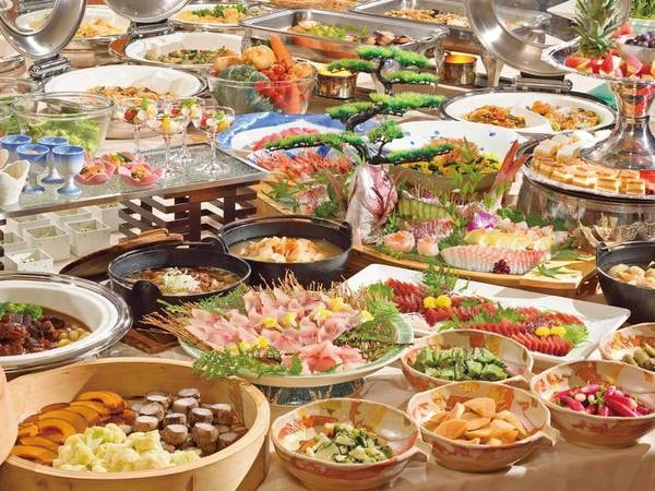 【夕食/例】約40品目60種類バイキング