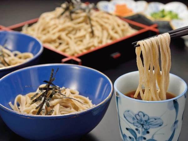 【夕食/例】実演・手打蕎麦