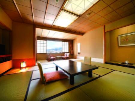 【北の丸和室/例】大浴場へ直通の館にある10~12畳の広々和室