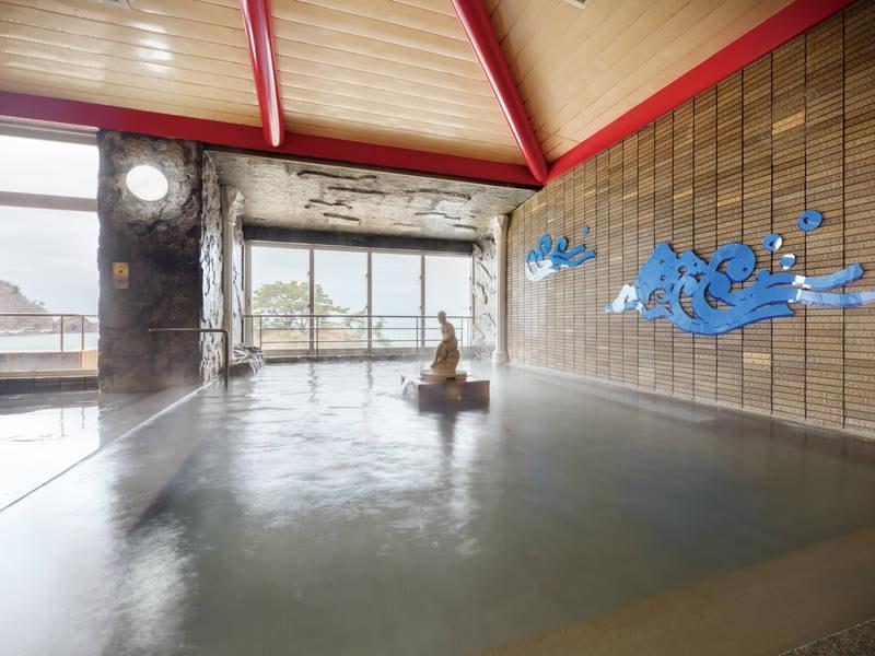 【東館大浴場】2種の源泉を楽しめる
