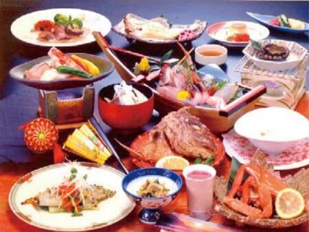 ●海鮮メインの和食膳(写真一例)海鮮をメインにした会席膳をご用意!