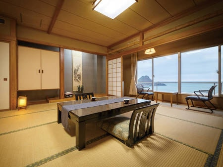 【東館和室】日本海を望む10畳和室