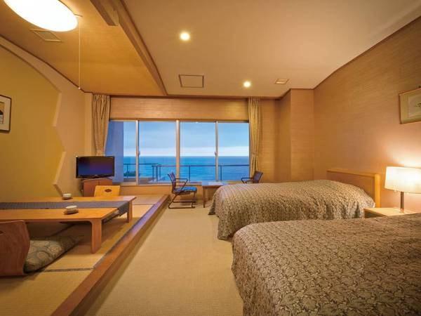 【和洋室/例】日本海を望む客室