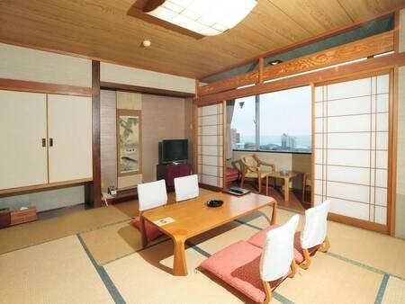 【和室/例】10畳以上の和室へご案内(予約時、禁煙・喫煙の選択可能!)