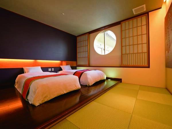 【和洋室/例】和室8畳+ベッドルームが心を落ち着かせる和洋室