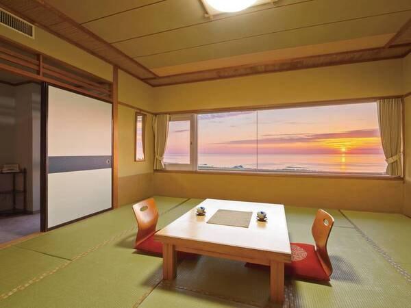 日本海側和室(写真一例)ゆったり12.5畳和室でのんびり