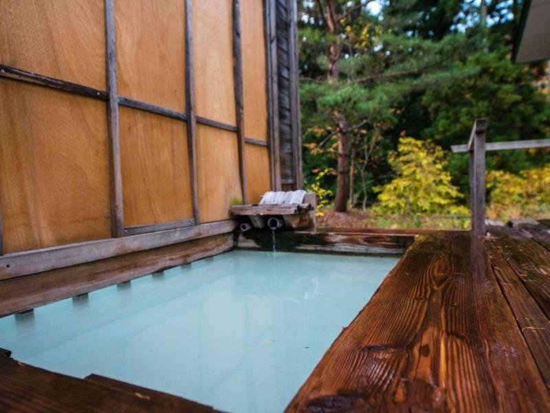 【貸切風呂 竜山】蔵王温泉を独占して楽しめる露天風呂(予約制・先着順)