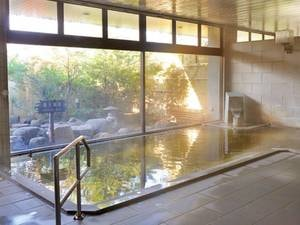 【大浴場】関節痛や冷え性に効能がある塩化物泉
