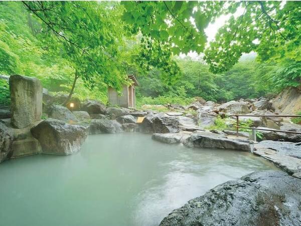 【岩風呂】