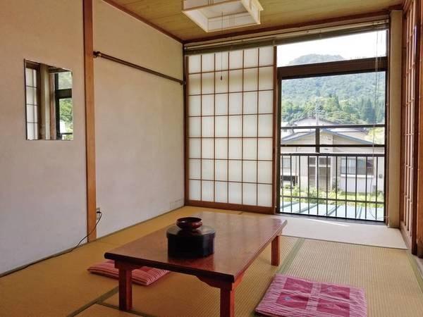 【和室6畳/例】お部屋は広さ6~8畳より宿お任せでご用意