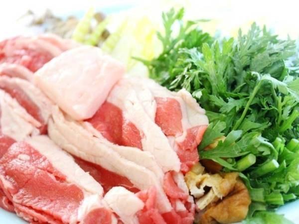 5種の選べるお料理/すき焼き一例