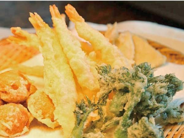 【ブッフェプラン/例】旬のお野菜を揚げたてでいただく!