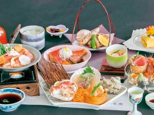 ■彩り膳(3月のお食事/例)