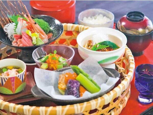 【華の膳/例】品数を減らして料理を楽しみたい方におすすめ