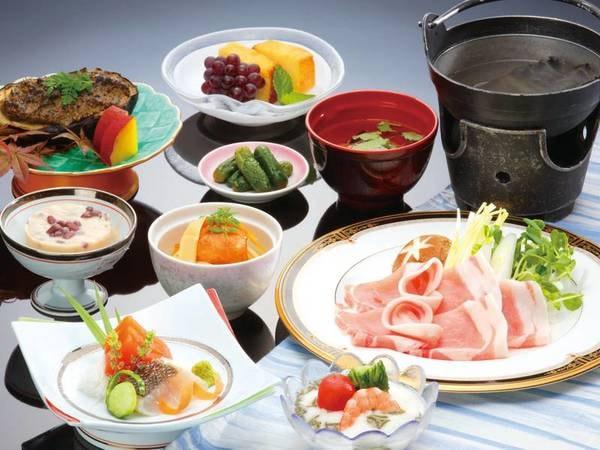 【和食膳/例】福島県の郷土の幸を中心とした会席料理