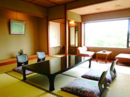 【新館和室/例】お風呂への移動が便利な新館(東雲館)のお部屋