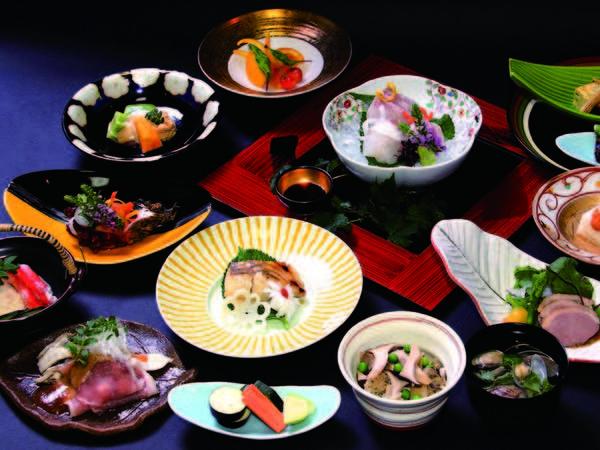 【えごま豚しゃぶ会席/例】柔らかくうまみ溢れる福島産えごま豚しゃぶしゃぶなど約10品