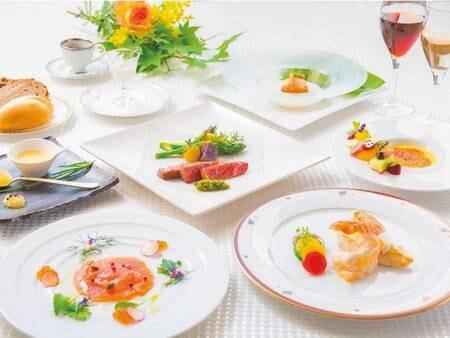 【夏季洋食フルコース/例】西洋料理コースディナーをご用意