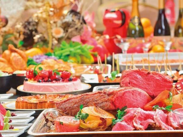 【バイキング/例】40種類以上の和洋中料理。東北各地の名物料理や東北各地産の旬の食材
