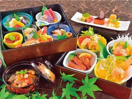 夕食洋中お膳/例