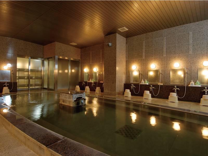 【大浴場】体の芯から温まる