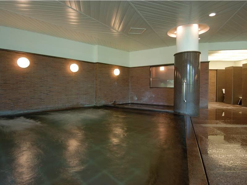 【大浴場】ドライサウナも完備