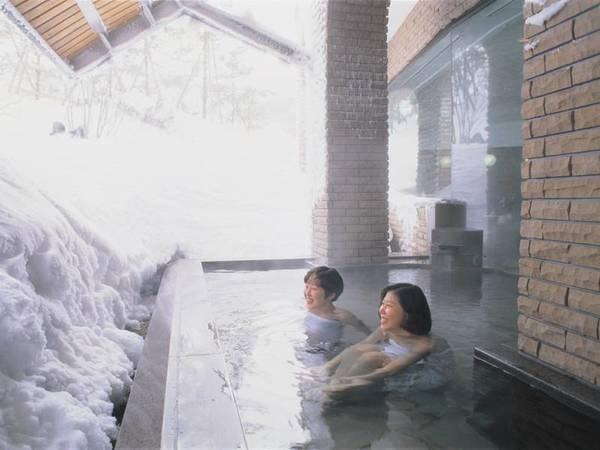 露天風呂/冬