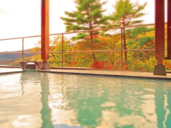 空中露天風呂「杜の湯」