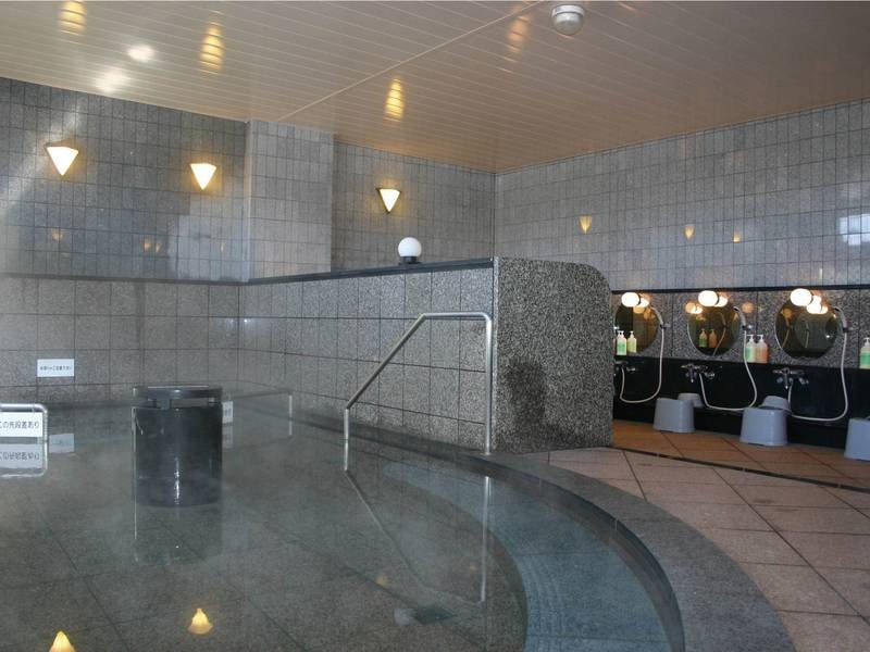 【大浴場】やさしい肌触りの温泉